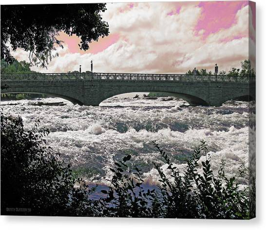 The Torrent Above Niagara Canvas Print by Garth Glazier