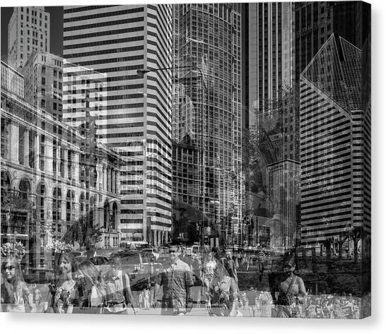 The Tourists - Chicago 03 Canvas Print
