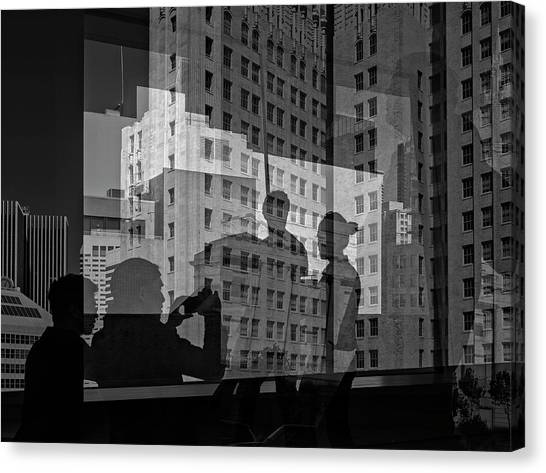 The Tourists - Sfmoma Canvas Print