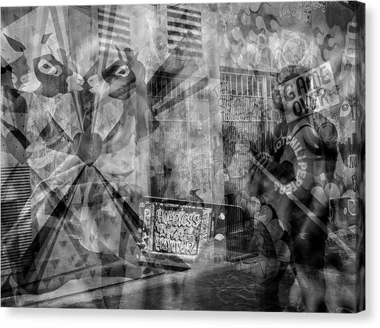 The Tourists - The Mission District Canvas Print