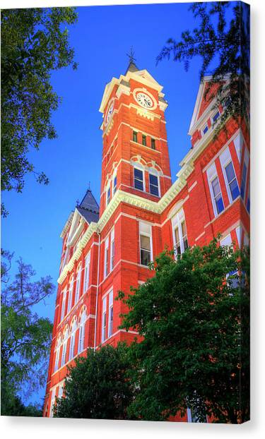 Auburn University Canvas Print - The Tower by JC Findley