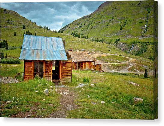 The Town Of Animas Forks Canvas Print