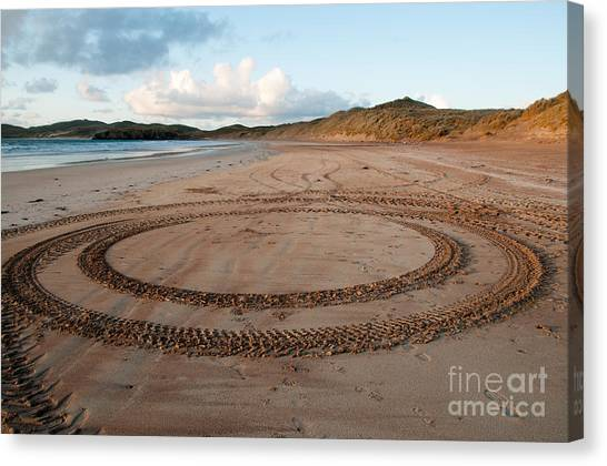 Scotland Canvas Print - The Tracks by Smart Aviation
