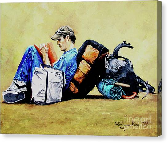 The Traveler 2 - El Viajero 2 Canvas Print