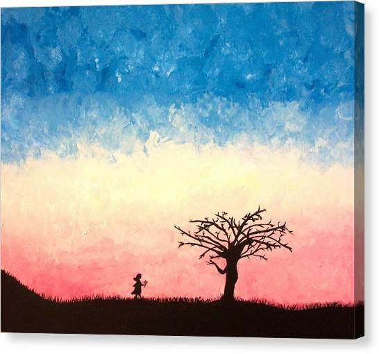 The Tree Canvas Print by Jennifer Hernandez