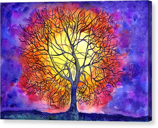 The Tree Of New Life Canvas Print