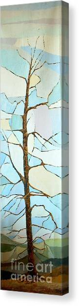 The Tree Sky Song Canvas Print by Judith Espinoza