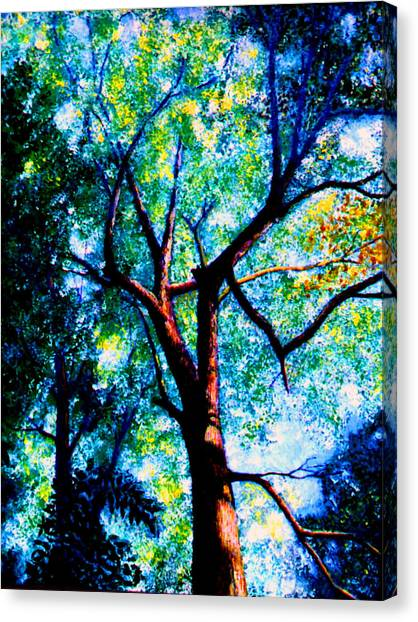 The Tree Canvas Print by Stan Hamilton