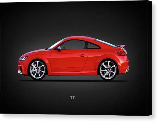 Audi Canvas Print - The Tt Coupe by Mark Rogan
