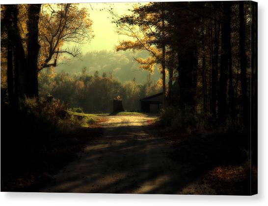 The Turn In The Road Canvas Print
