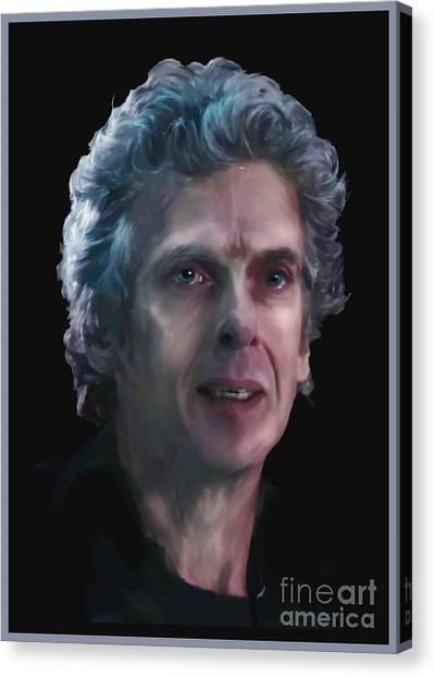The Twelfth Doctor Canvas Prints Fine Art America