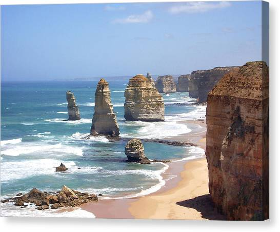 The Twelve Apostles Canvas Print