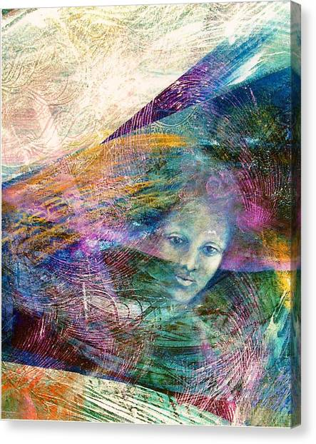 The Undine Canvas Print by Sue Reed