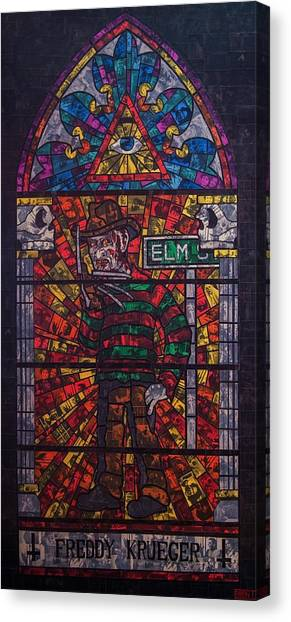 The Unholy Trinity Freddy Krueger Canvas Print