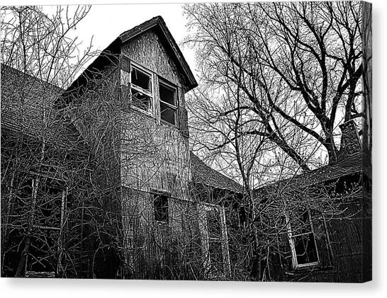 Haunted House Canvas Print - The Upstairs Lookout by Phil Koch