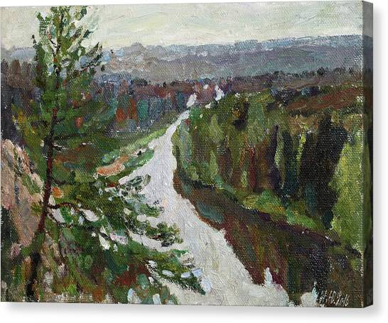 Ural Mountains Canvas Print - The Ural Etude by Juliya Zhukova