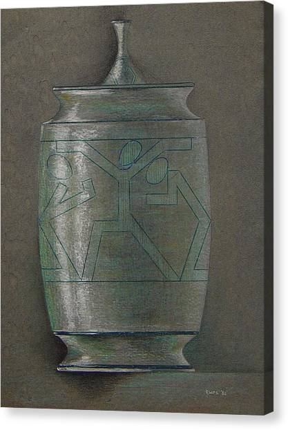 The Urn Canvas Print by Ron Sylvia