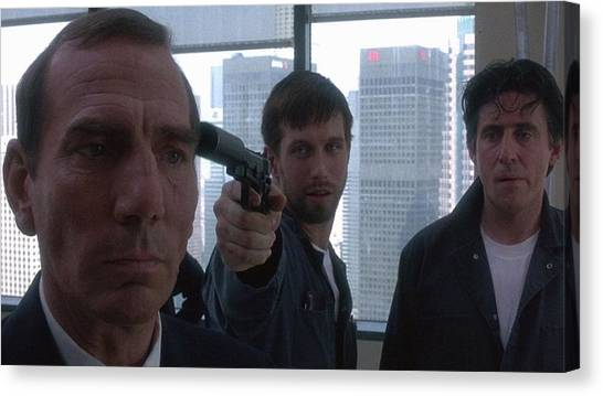 The Usual Suspects Canvas Print - The Usual Suspects by Alice Kent