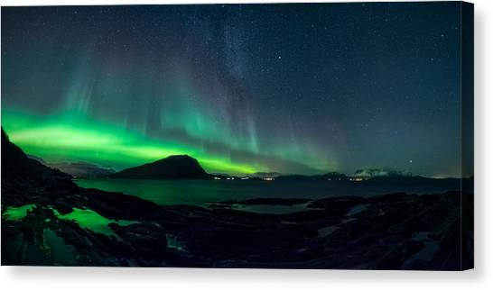 Norway Canvas Print - The Valkyrior by Tor-Ivar Naess
