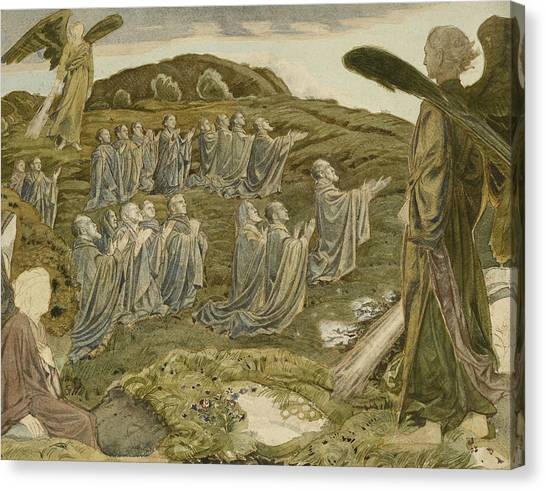 Purgatory Canvas Print - The Valley Of Vision by Henry A Payne