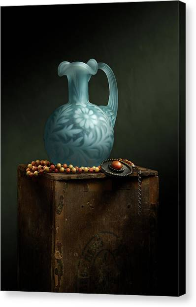 The Vase Canvas Print