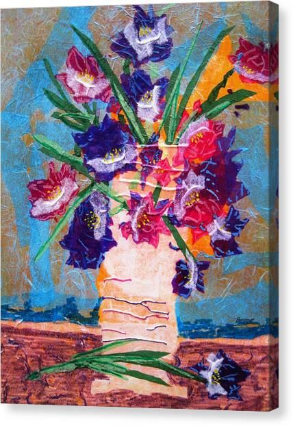 The Vase Canvas Print by David Raderstorf