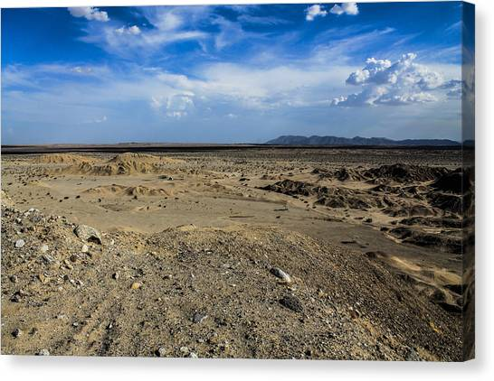 Canvas Print featuring the photograph The Vastness by Break The Silhouette
