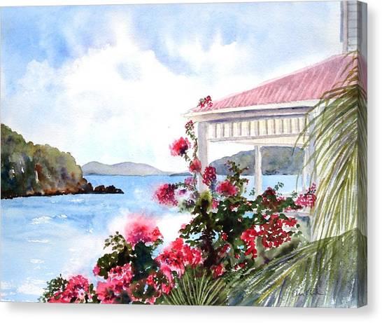 The Veranda Canvas Print