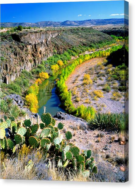 The Verde River Canvas Print