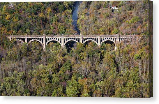 The Viaduct Canvas Print