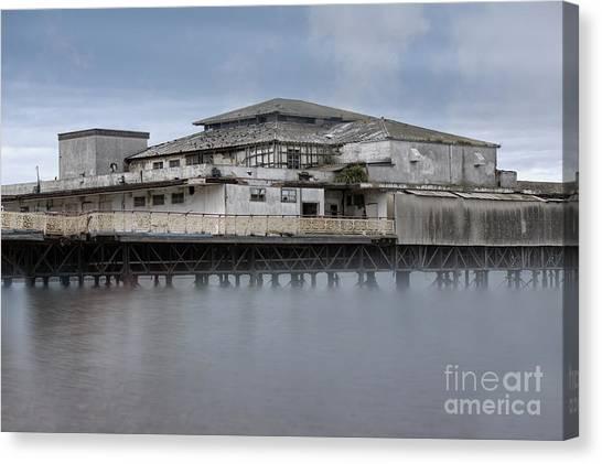 Colwyn Bay Canvas Print - The Victoria Pier by Mickey At Rawshutterbug
