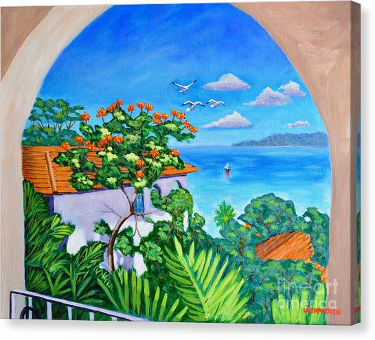 The View From A Window Canvas Print