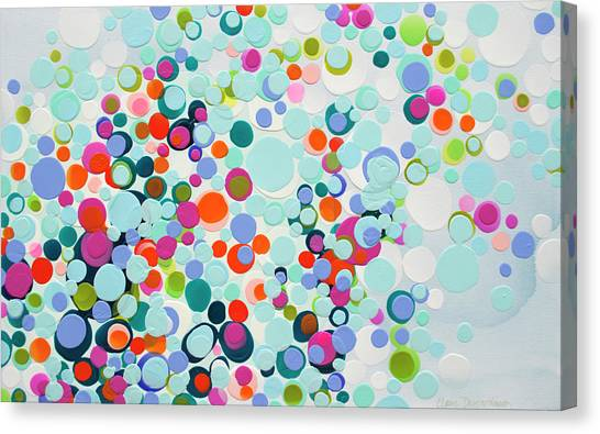 Canvas Print - The View From Here by Claire Desjardins