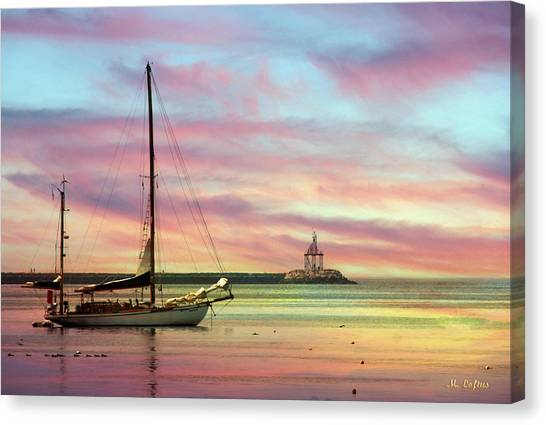 The View From Rocky Neck Canvas Print