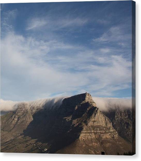 South Africa Canvas Print - Table Mountain by Lorna Mason
