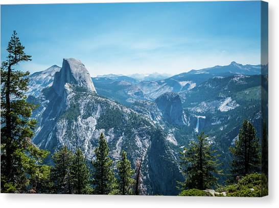 The View- Canvas Print