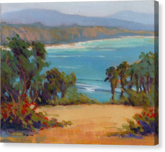 Canvas Print featuring the painting The View by Konnie Kim