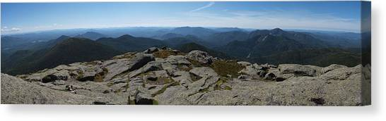 The View North From Mt. Marcy Canvas Print