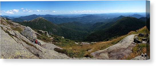 The View South From Mt. Marcy Canvas Print