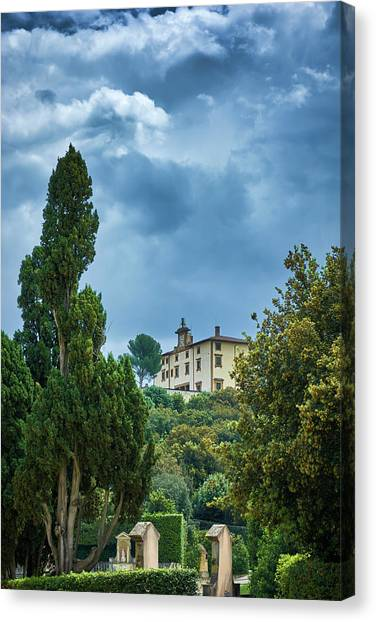 The Views From The Boboli Gardens Canvas Print