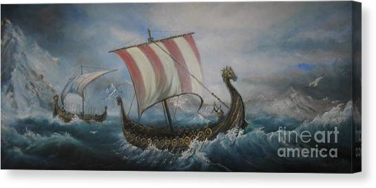 The Vikings Canvas Print