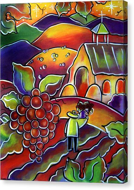The Vineyard Canvas Print