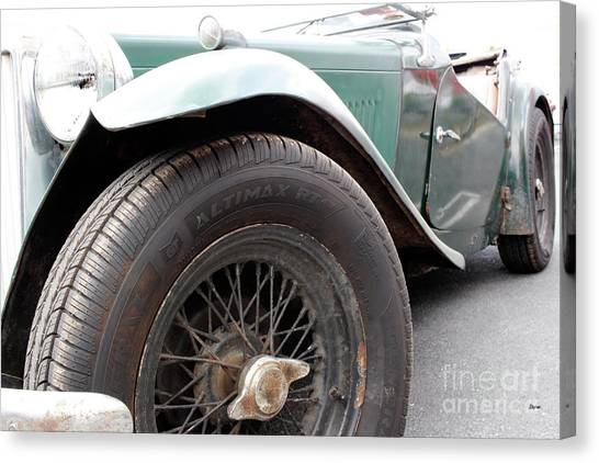 The Vintage Mg  Canvas Print by Steven Digman