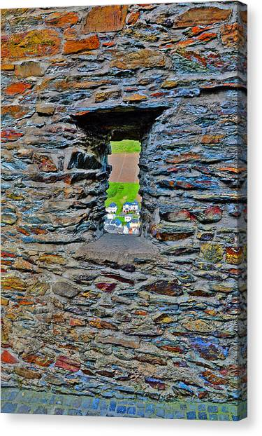 Synthesizers Canvas Print - The Wall. Window. by Andy Za