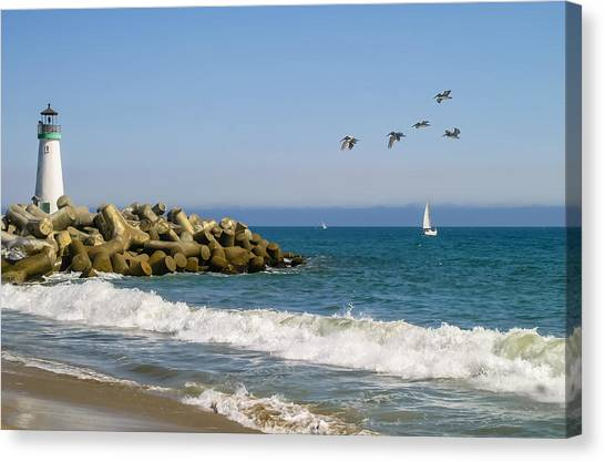 The Walton Lighthouse Canvas Print