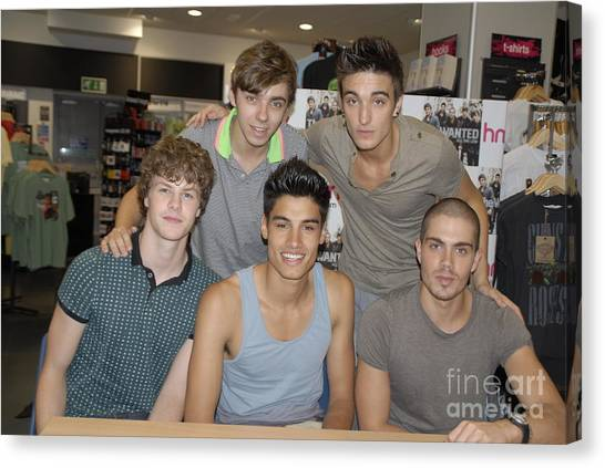 The Wanted Canvas Print