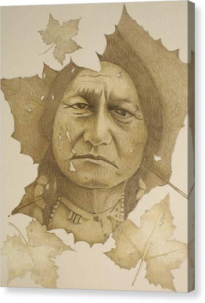 The War Chief Canvas Print