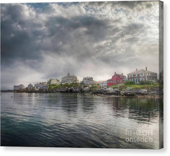 Monhegan Harbor View Canvas Print