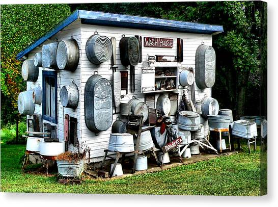 The Wash House Canvas Print