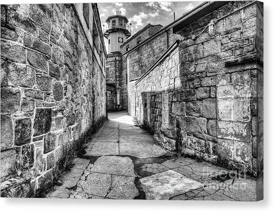 The Watch Tower Eastern State Penitentiary Canvas Print